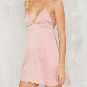 Motel Lucia Satin Dress